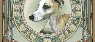 Antique Whippet / Antigüedades Whippet